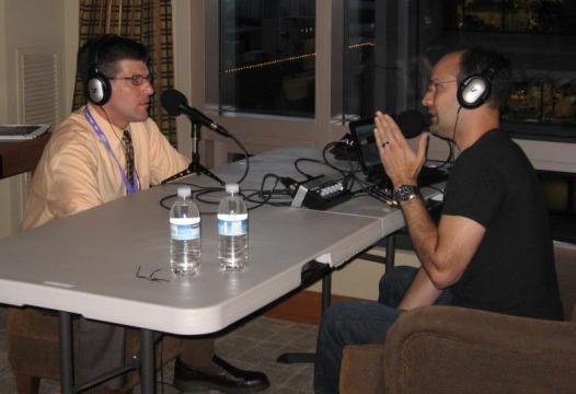JW Matheson talking with Erik