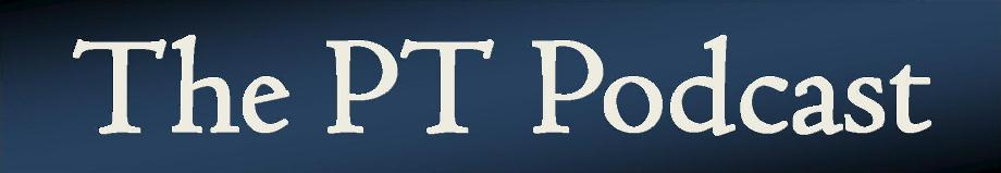 The PT Podcast Logo